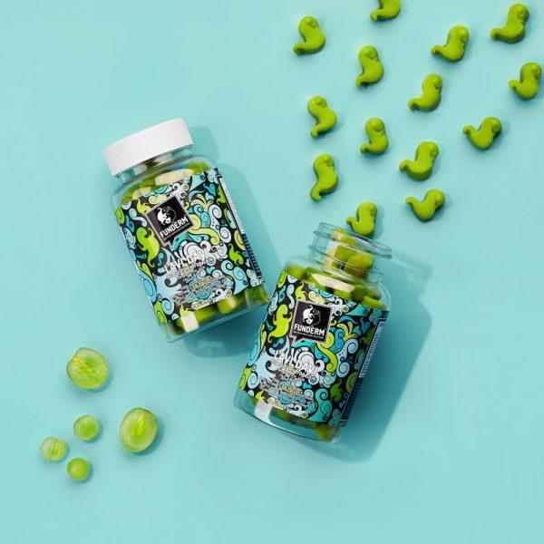 2X LAVI DAVI Gummies   Nutri-cosmetic supplements for beautiful, vital skin
