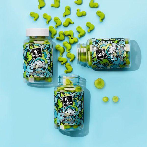 3X LAVI DAVI Gummies   Nutri-cosmetic supplements for beautiful, vital skin